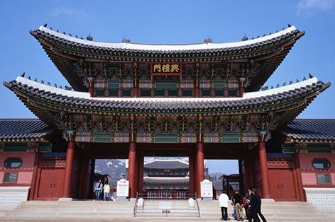 韓国・ソウル・景福宮