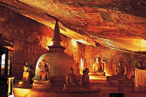 ダンブッラ石窟寺院/イメージ