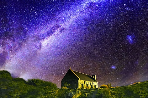 星屑が降り注ぐ街 テカポ/イメージ