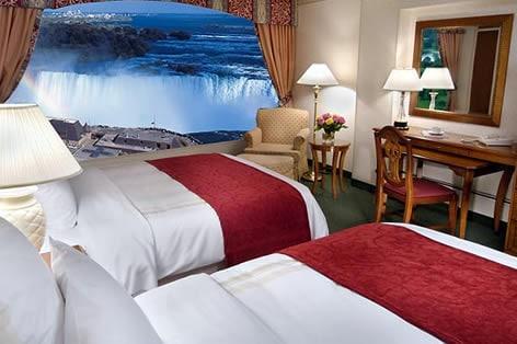 ナイアガラ宿泊ホテル客室一例