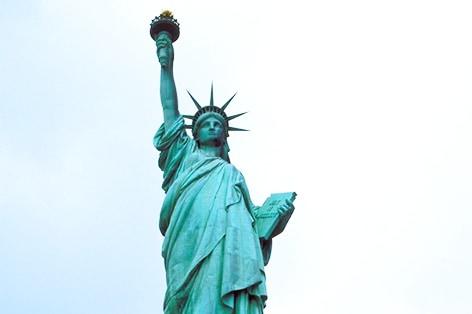 世界遺産自由の女神