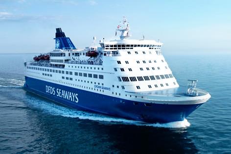 DFDSシーウェイズで1泊2日の船旅