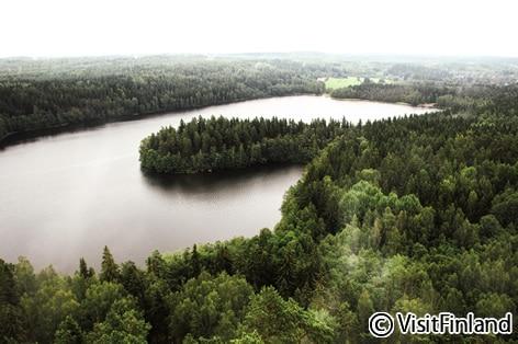 ハメーンリンナの湖