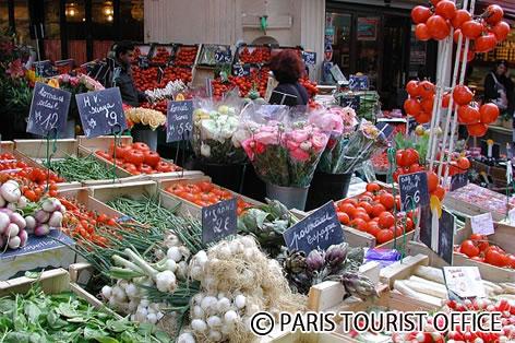パリのマルシェ