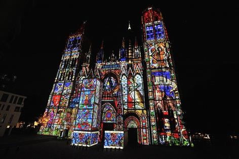 ルーアン 光の大聖堂