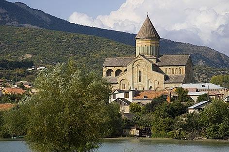 ジョージア(グルジア) ムツヘタの歴史的建造物
