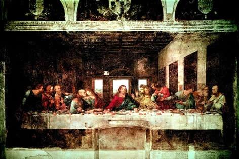 レオナルド・ダ・ヴィンチの傑作<br>「最後の晩餐」