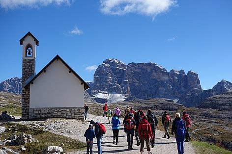 トレチーメハイキング