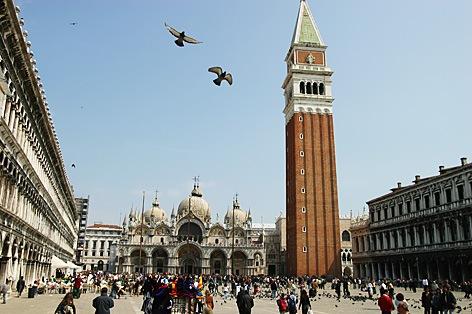 ベネチア サンマルコ広場