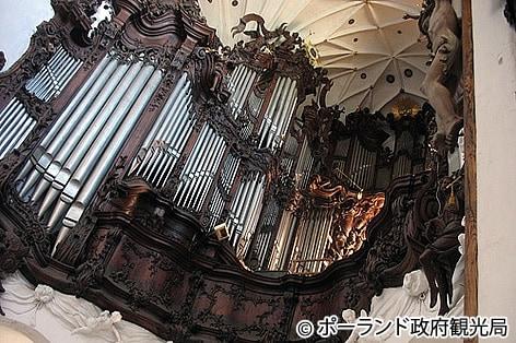 オリーヴァ大聖堂のオルガン