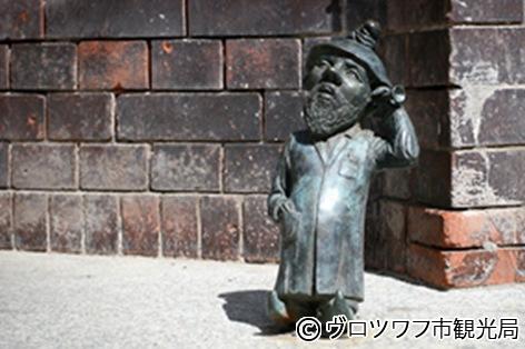 ヴロツワフの小人像