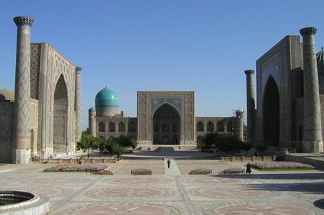 ウズベキスタン(中央ア...
