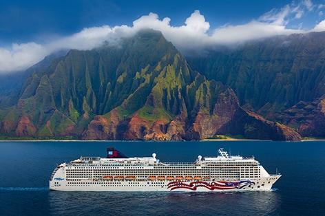 ハワイ4島クルーズ 10日間