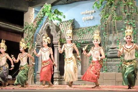 伝統芸能アプサラダンス