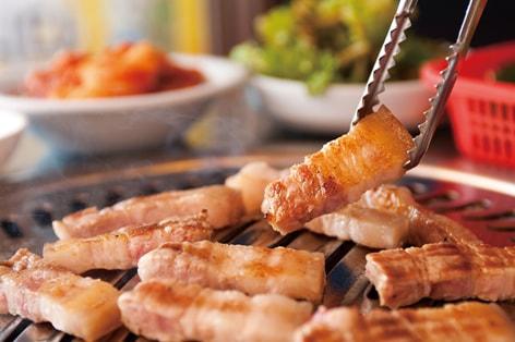 イメージ画像:ソウルで食べる焼肉