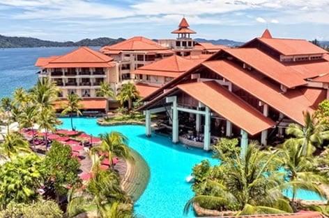 海外旅行 ボルネオ島 ステラハーバー・リゾート&スパ ホテルプール(イメージ)