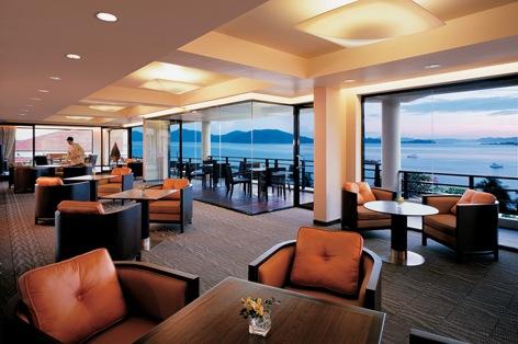 海外旅行 ボルネオ島 シャングリラ・タンジュン・アル・リゾート&スパ ホテル・ラウンジ(イメージ)