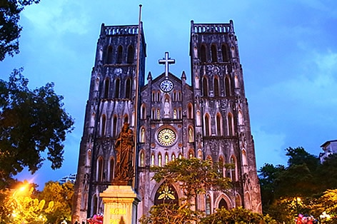 市民の祈りの場ハノイ大教会