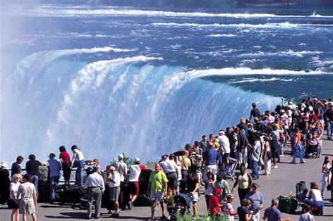 添乗員同行の旅 アメリカ ナイアガラの滝