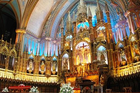 モントリオール ノートルダム大聖堂/イメージ