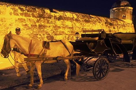 カルタヘナ 夜の馬車