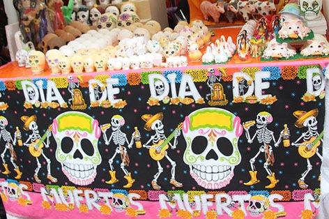 死者の日 露店