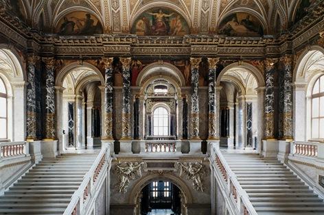 美術史美術館 階段ホール