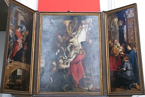 ルーベンス作・キリストの降架