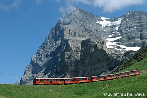ユングフラウ登山列車