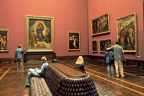 ドレスデン アルテ・マイスター絵画館