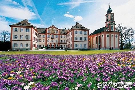 花の島「マイナウ島」(ドイツ)