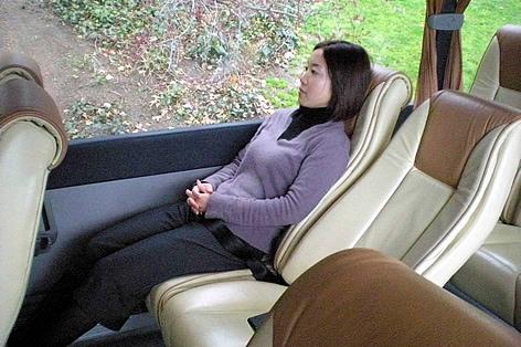 ゆったりバス座席一例