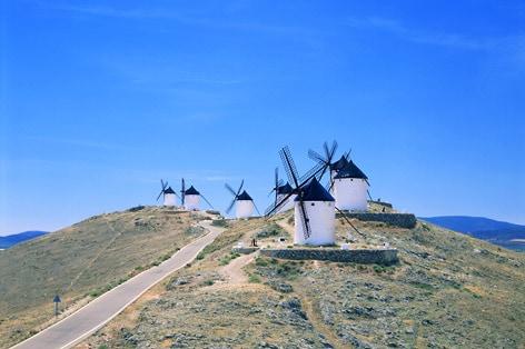 ラ・マンチャ地方の風車