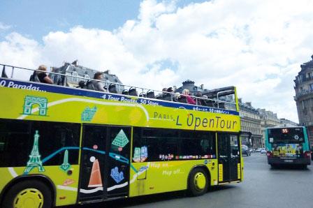 パリ オープンツアー1日バス