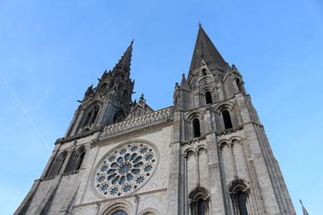 世界遺産シャルトル大聖堂(イメージ)