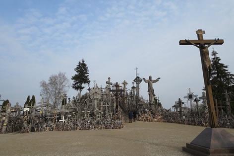 リトアニア・十字架の丘