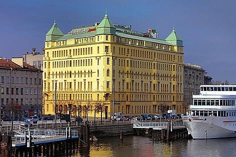 サンクト・ペテルブルク利用ホテル一例
