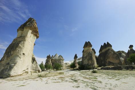 カッパドキアの奇岩