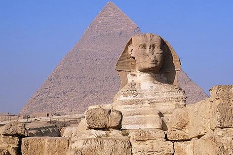 スフィンクス&ピラミッド(イメージ)