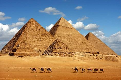ギザの3大ピラミッド