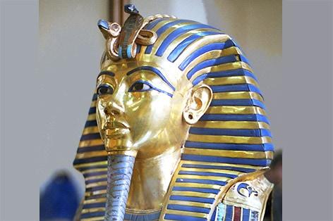ツタンカーメン王のマスク