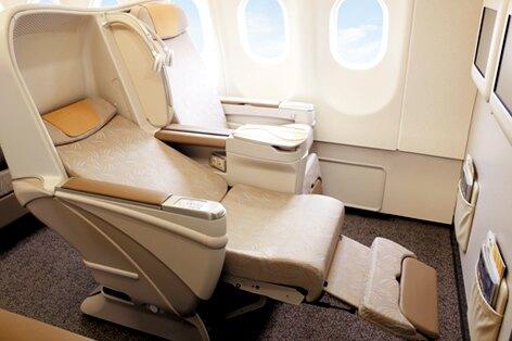 アシアナ航空シート一例