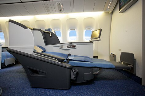 フィリピン航空シート一例